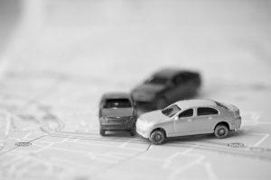 Choque entre varios vehículos
