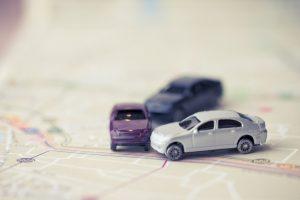 Accidente entre varios vehículos