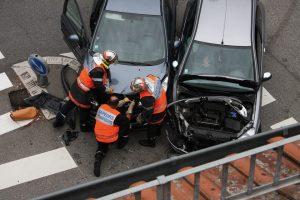 Como actuar en un accidente de tráfico