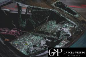 Accidente con un coche de alquiler